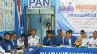 H Said Samsul Bahri Kembali Pimpim DPD PAN Abdya