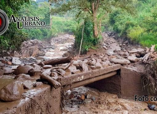 Tres campesinos se encuentran desaparecidos en Ciudad Bolívar, Antioquia, por tragedia invernal