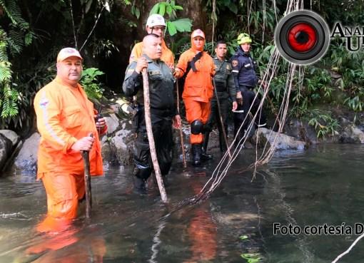 Hallan cadáver de mujer norteamericana que arrastró creciente del río Melcocho en Cocorná