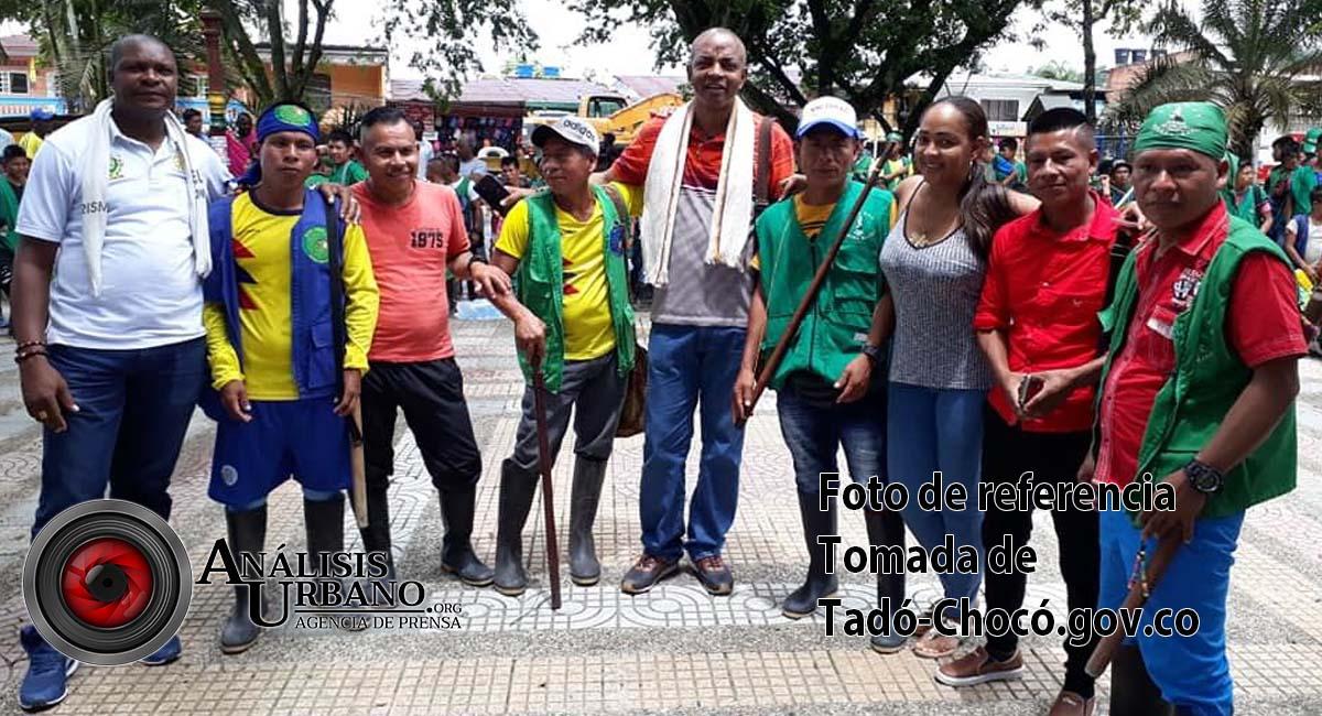 Cerca de 700 indígenas y afrodescendientes marchan hacia Bogotá para alertar sobre la crisis que padecen en el Chocó