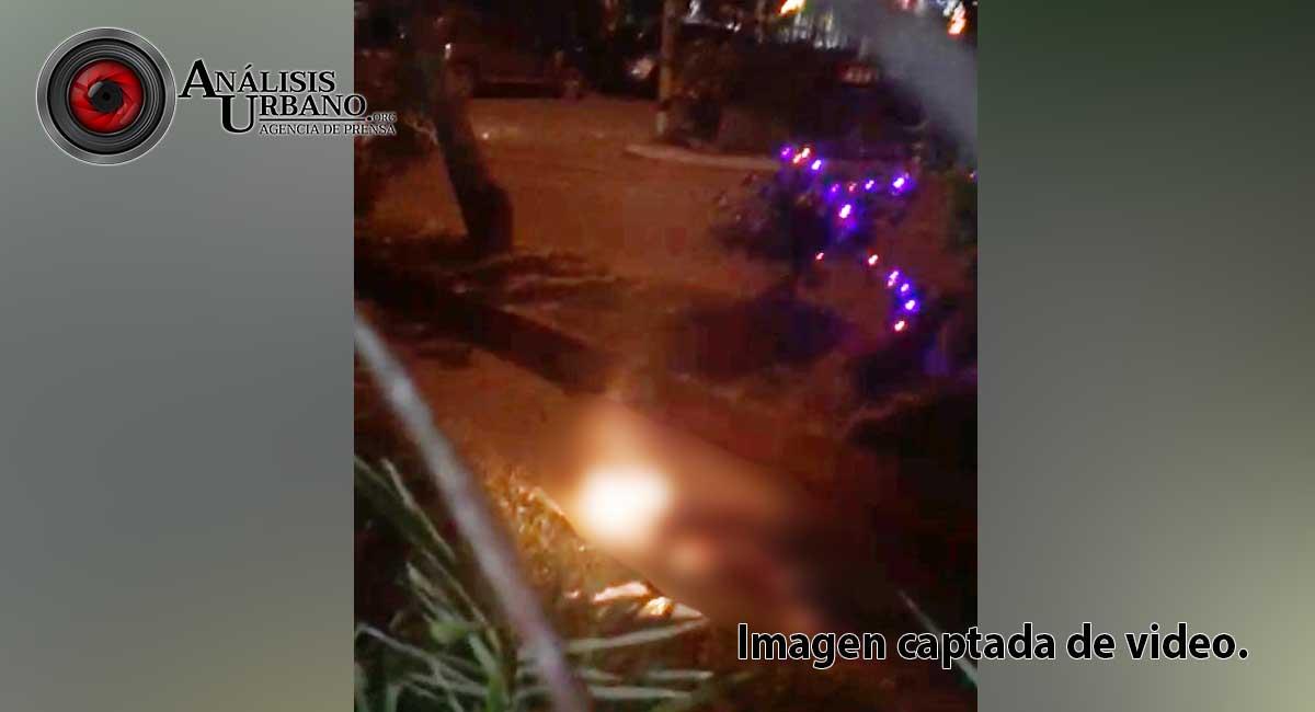 Lo asesinaron a balazos y luego le prendieron fuego en la América, comuna 12 de Medellín