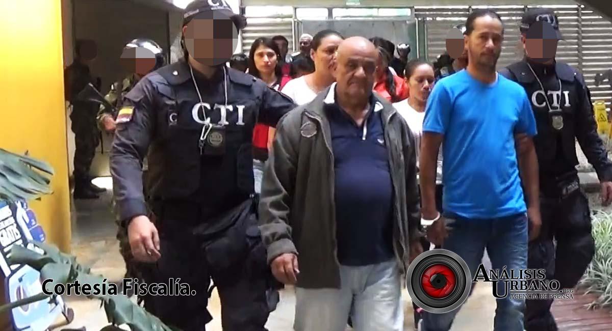 Fiscalía desarticuló la mayor red de distribución de drogas en el Centro de Medellín
