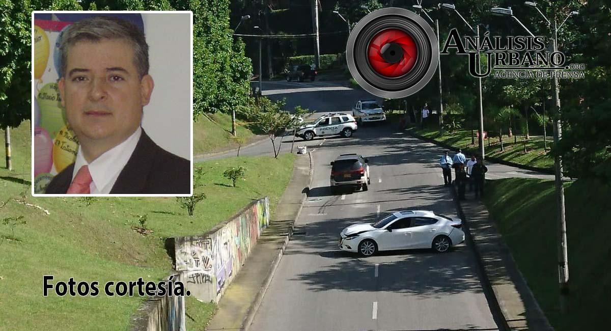 Empresario Juan Fernando López fue asesinado en su auto en El Poblado, comuna 14 de Medellín