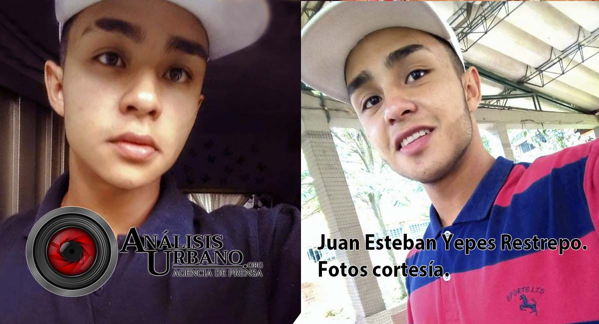 Mataron a un inocente. Juan Esteban Yepes Restrepo fue el joven incinerado en la comuna 12 de Medellín