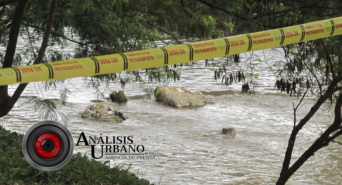 Hallan dos cadáveres en el río Medellín