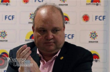 Jorge Enrique Vélez pide millonaria indemnización para renunciar a la Dimayor