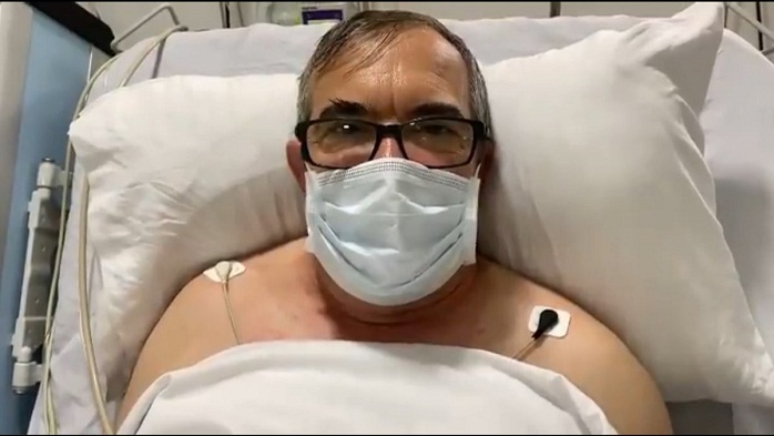 'Timochenko' primero fue atendido en un centro de salud de Armenia y posteriormente, fue trasladado a una clínica de la capital quindiana donde permanece.