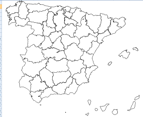 Zaragoza Espana Mapa