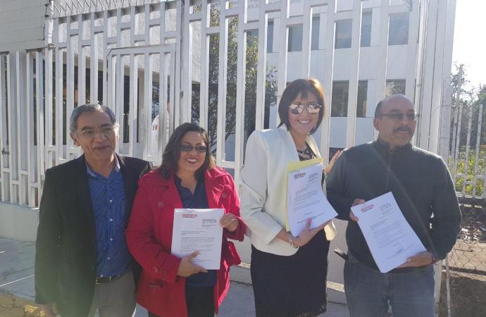 Morena presentó ante la Sala Superior de TEPJF un recurso de  reconsideración sobre el asunto de la elección en Emiliano Zapata