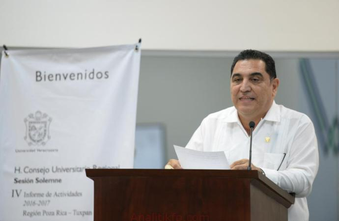 "Región Poza Rica-Tuxpan reafirmó ""espíritu inquebrantable"" de la UV"