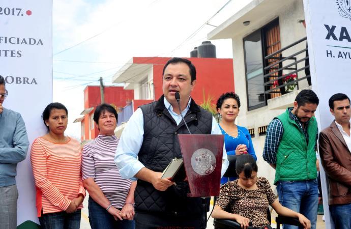Predicamos con el ejemplo, honramos la palabra empeñada: Américo Zúñiga