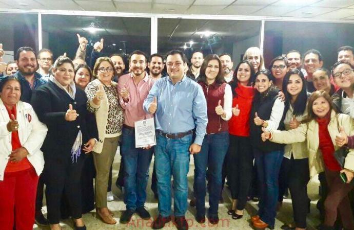 Jorge Víctor Flores, nuevo presidente del CDM del PRI en la ciudad de Veracruz