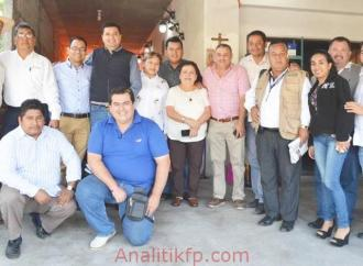 FABIAN SARTORIUS DOMINGUEZ, SE REUNIO CON PERIODISTAS DE LA REGIÓN, EN PUENTE NACIONAL