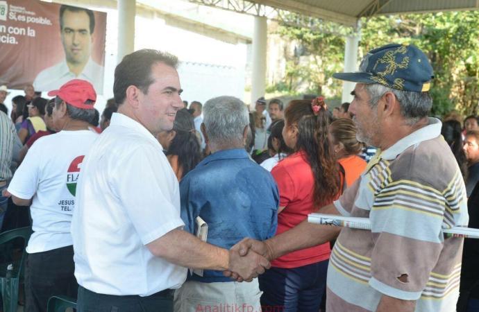 El respeto de la gente se gana con obras, cercanía y capacidad de respuesta, sostiene Pepe Yunes ante militantes en Tempoal