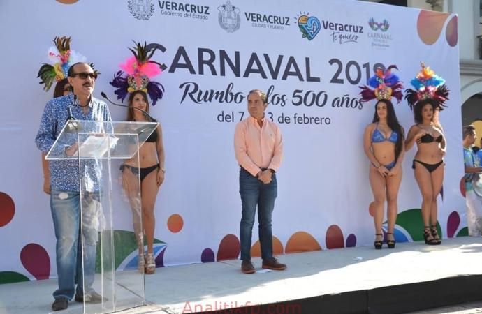 Viva el Carnaval de Veracruz 2018