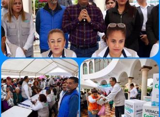 "Programa ""Veracruz Comienza Contigo"" en Cosamalopan"