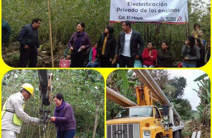 Electrificaciones en Xico