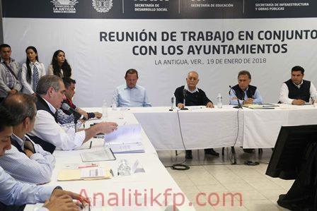 La Antigua y municipios circunvecinos tendrán más obra este año
