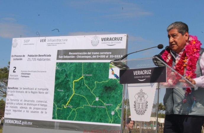 Carretera San Sebastián-Chicontepec, obra de justicia social: Diputado Manuel Francisco