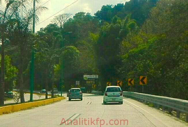 Sin topes en la pista Xalapa a Coatepec