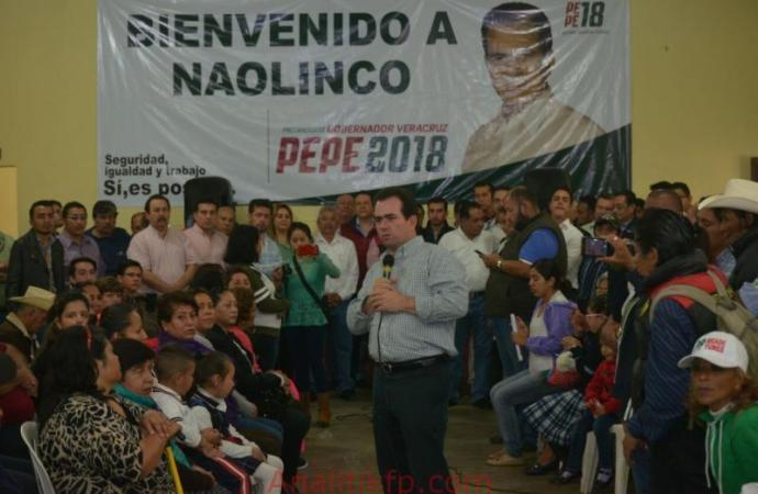 Veracruz tiene futuro y merece mucho más: Pepe