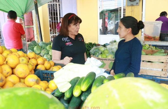"""Carmen Mora: """"Realizaré alianzas para el desarrollo del campo y para apoyar a mujeres emprendedoras""""."""