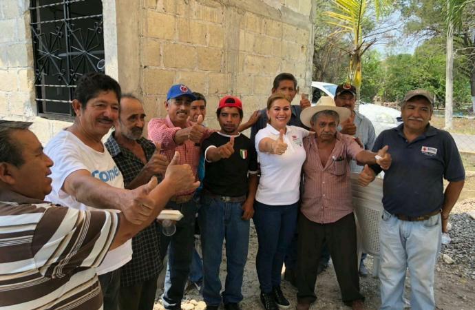 Trabajo en conjunto con la población detonará Rinconada: Marilda Rodríguez