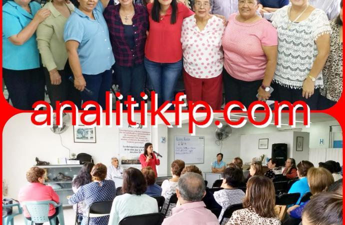 Personas mayores, nuestro gran patrimonio; debemos garantizarles una vida plena: Linda Rubí