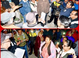 Desacatan ambulantes reubicación determinada por el Cabildo de Xalapa