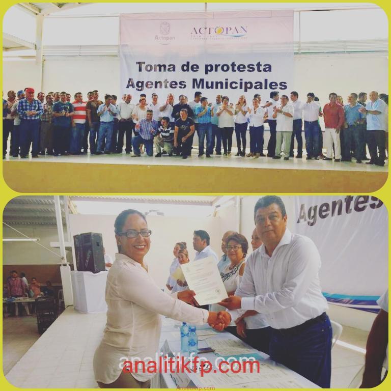 En Actopan hay nuevos 56 agentes municipales