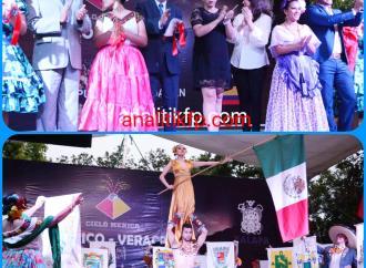 Con más de 700 artistas mexicanos, chilenos y colombianos