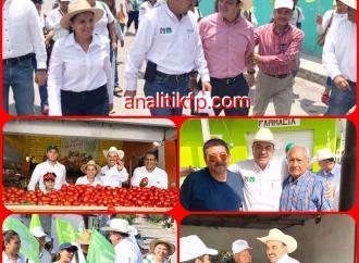 Inicia campaña Segundo Grajales en Rinconada