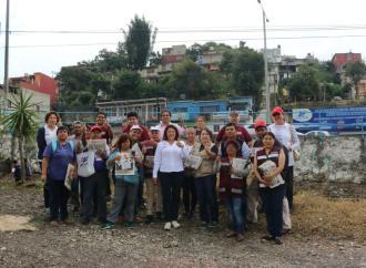 """Banderilla necesita, merece y tendrá el colector pluvial que le han negado"""": Carmen Mora."""
