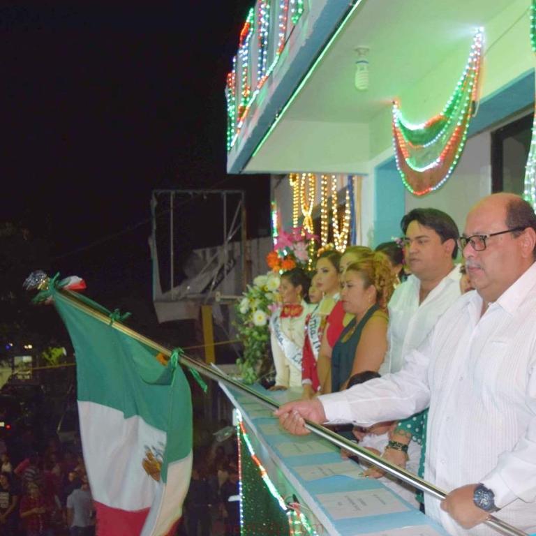Paulino Domínguez dio el grito en Actopan