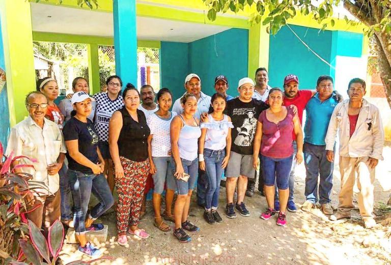 Junto a nuestra gente, lograremos la transformación de raíz: Gómez Cazarín