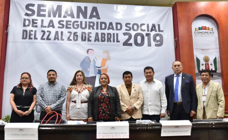Trabajará Congreso de Veracruz para rescatar al IPE: diputada Adriana Martínez