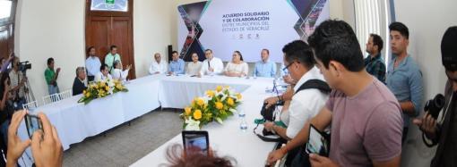 AYUNTAMIENTO DE COATEPEC SE HERMANA CON OTROS MUNICIPIOS DEL ESTADO DE VERACRUZ.