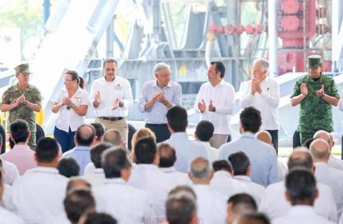 Veracruz, Gobierno aliado para impulsar a PEMEX: Cuitláhuac García