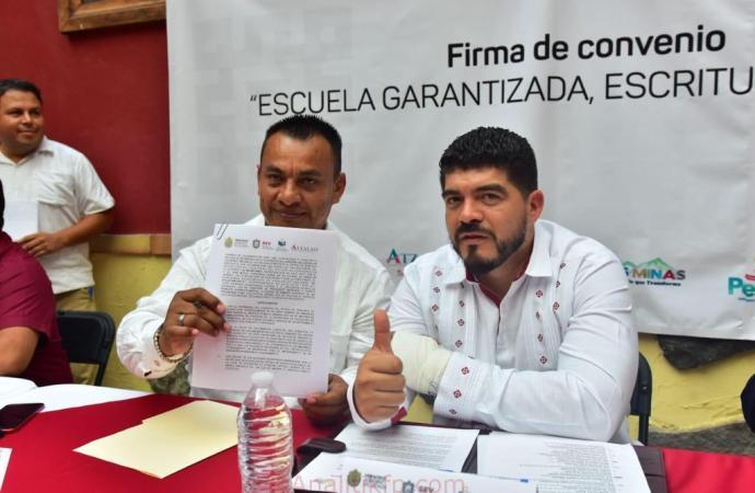 Se suman 6 ayuntamientos a programa de escrituración de la SEV