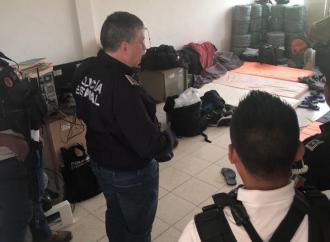 Supervisa Secretario de Seguridad acciones preventivas en Sayula de Alemán y Texistepec