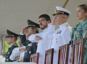 Se suma SEV al 172 Aniversario de la Gesta Épica de los Niños Héroes, en Minatitlán