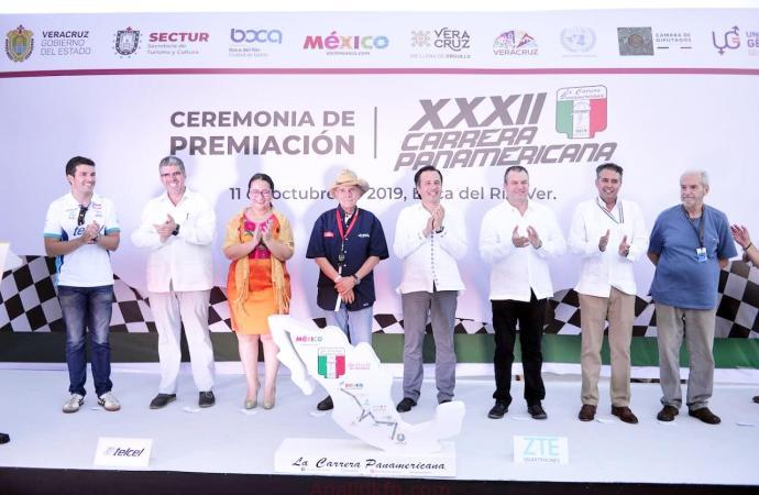 Luego de siete años, Gobierno de Veracruz trae de vuelta la Carrera Panamericana