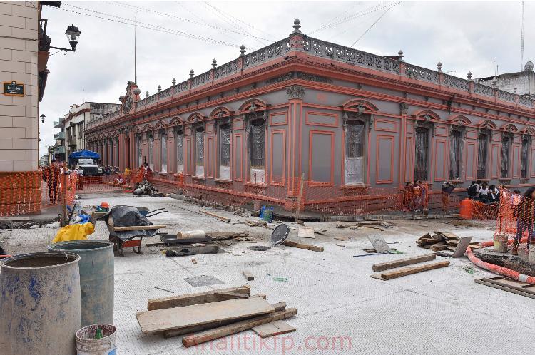 Este domingo se reabre la circulación en la calle Benito Juárez