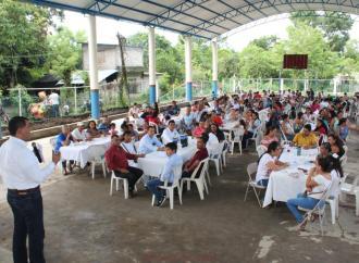 La telesecundaria Leona Vicario de la Reforma-Troncones ya cuenta con domo