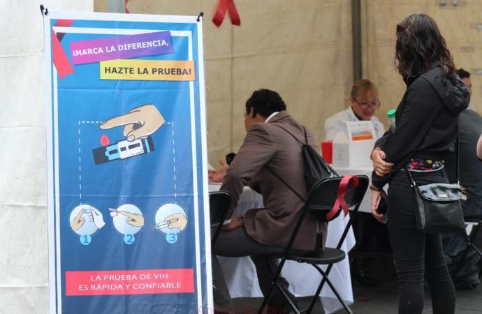 Jurisdicción No. 5 realiza 150 pruebas rápidas de VIH muy pocas salen positivas