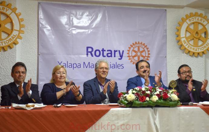 Estrechan vínculos Rotary International y Xalapa