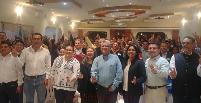 Estructuras Municipales llevarán al triunfo en 2021: PAN Veracruz