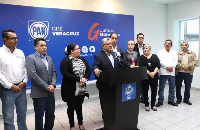 A los malos resultados de MORENA respondemos con propuestas y trabajo: PAN Veracruz