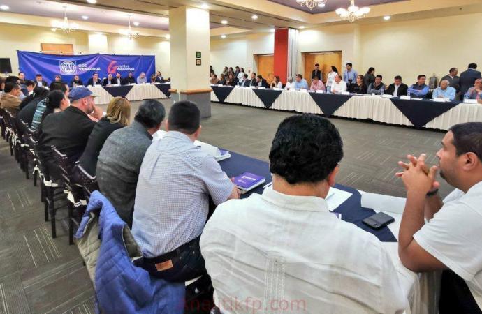 Coordinación con alcaldes permitirá más desarrollo en Veracruz: GLPAN
