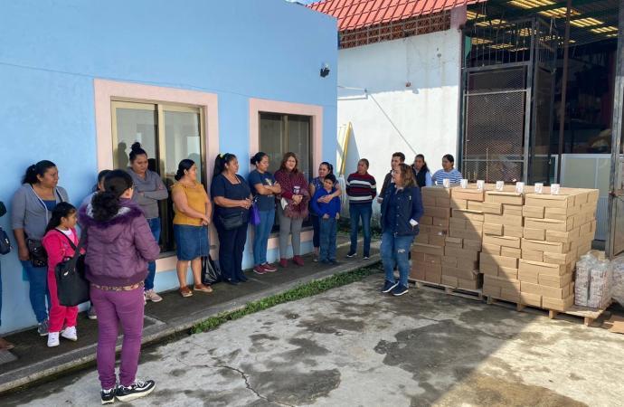 Más de tres mil alumnos beneficiados con los desayunos fríos del DIF